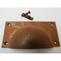 Large Rectangular Cabinet Pull Handle Rustic