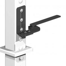 Gatemate Easy-Fit Adjustable Gate Post System - Bottom Pivot Hinge (Left Hand)