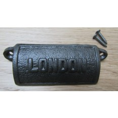 Antique Iron Retro Cup Handle London