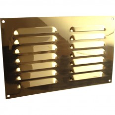 "9"" x 6"" Louvre Air Vent Gold"