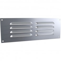 "9"" x 3"" Louvre Air Vent Silver"