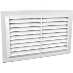 "9"" x 6"" Louvre Air Vent White"