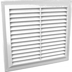 "9"" x 9"" Louvre Air Vent White"