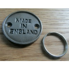 Made in England Cast Iron Key Ring