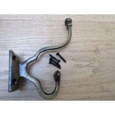 Malvern Coat Hook Antique Brass