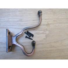 Pack Of 5 Malvern Coat Hooks Antique Copper