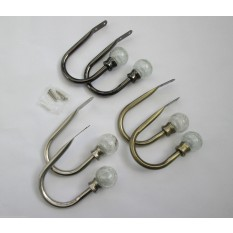 Metal Curtain Tie Back Hook