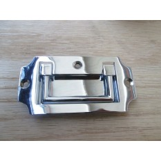 Military Flush Chest Handle Polished Chrome