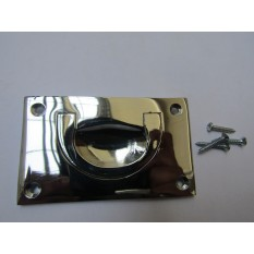 90mm Large Campaign Chest Handle Polished Chrome