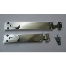 "MODERN SURFACE DOOR SLIDE SHOOT BOLT TOWER BOLT-6""/150MM"