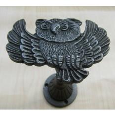 Owl Curtain hold back Antique Iron