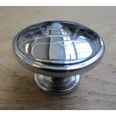 Oxford cabinet knob polished chrome