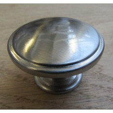Oxford Round Cabinet Knob Satin Nickel