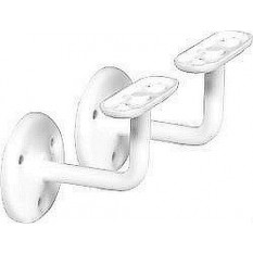 PACK OF 2 STEEL METAL STAIR BANNISTER HAND RAIL HANDRAIL BRACKETS