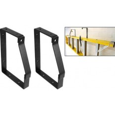 Pair of Lockable Ladder Brackets Hooks
