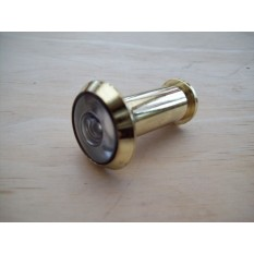 Peep Hole Door Viewer Polished Brass