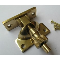 Polished Brass Brighton Screw down Fastener