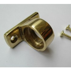 Polished Brass Sash Eye