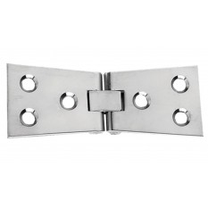 Pair Of Counter Flap Hinges Polished Chrome
