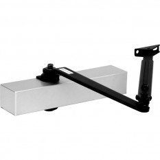 Power Adjustable Door Closer Size 2-4 Silver