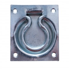 Trap Door Ring Pull Handle Zinc