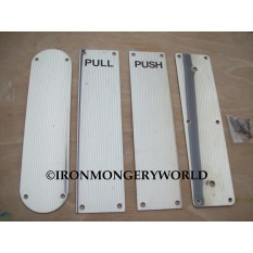push pull plates stainless steel