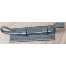 8'' Hand-Forged Rat Tail Slide Antique Iron