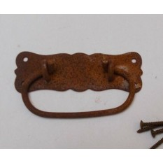 Regal Ring Pull Handle Rust