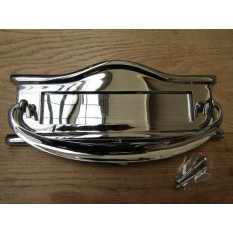 Regency Postal Door Knocker Polished Chrome