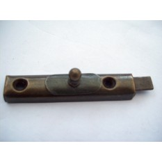 Replica Antique Brass Cupboard Door Bolt pic 1