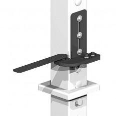 Gatemate Easi-Fit Adjustable Gate Post System - Bottom Pivot Hinge (Right Hand)