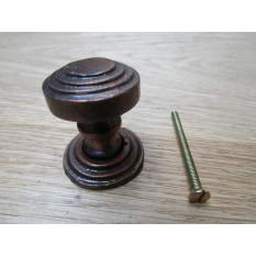 Twisted Round Cabinet Knob