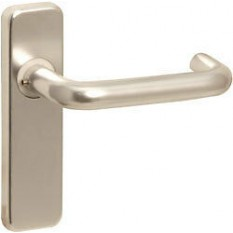 Pair of Round Bar Lever Latch Door Handle SAA