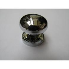 Round Cabinet Knob Polished Chrome