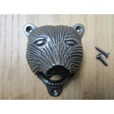 Cast Iron Bear Bottle Opener