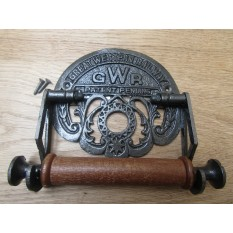 GWR Toilet Roll Holder Antique Iron