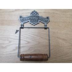 St Pancras Toilet Roll Holder Antique Iron