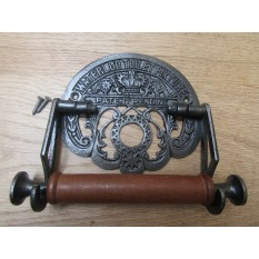 Waterloo Toilet Roll Holder Antique Iron