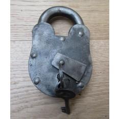"Cast Iron Padlock Antique Iron 5"""