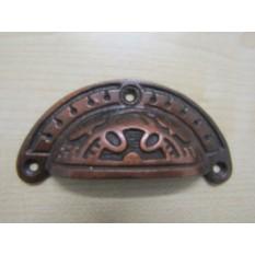 Round Inca Cup Pull Antique Copper