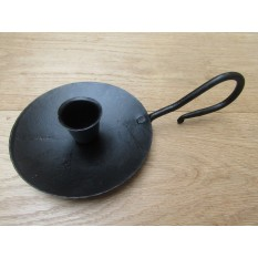 Wee Willie Winkie Candle Holder Black Wax