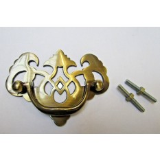 Drawer Pull Swing Handle  Antique Brass
