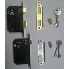Sash Lock 2.5 inch Brass