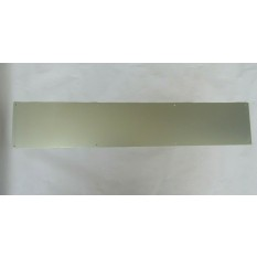 Door kick plate Satin Aluminium 800 x 150 mm