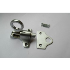 Satin Brushed Chrome Attic Fanlight Catch