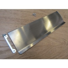 "11"" Inner Flap Tidy Satin Chrome"