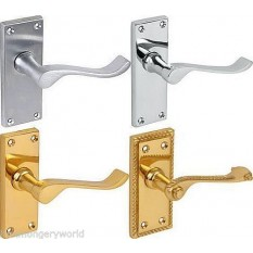 Scroll Lever Lock Door Handles