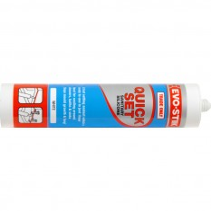 Evo-Stik Trade One Hour Sanitary Silicone White