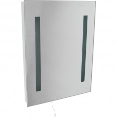 Mirror Light with Dual Voltage Shaver Socket