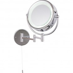 Apus LED Round Magnifying Mirror IP44